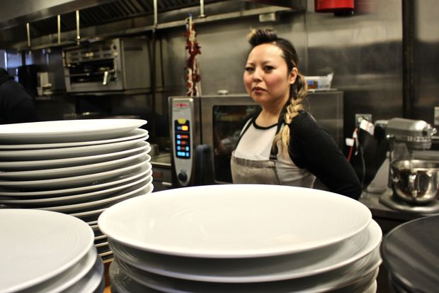 Mari Katsumura creates inventive dishes as the pastry and bread chef at Entente in Lakeview.
