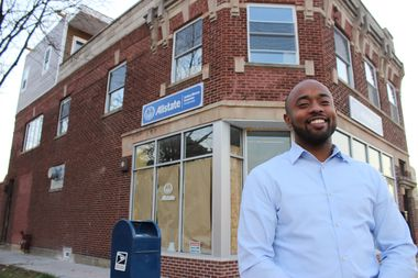 Joshua Mercer is building a new office at 2101 W. 95th St. in Beverly. A native of the area, Mercer is also building a home for his family on the second and third floors.
