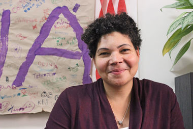 Elena Jaime is the new principal of the lower school at LREI in the Village.