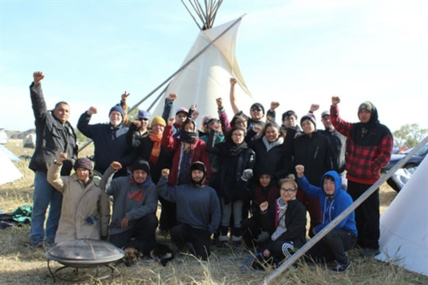 In the middle of October, a group of 11 students and three parent chaperones took a trip to Standing Rock, North Dakota.