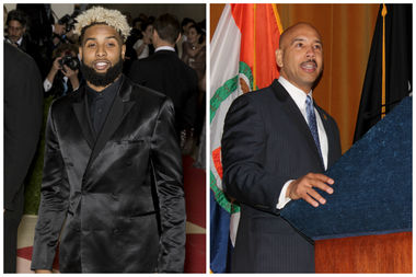 Bronx Borough President Ruben Diaz Jr. has written a letter to New York Giants star Odell Beckham Jr. thanking him for visiting The Bronx but urging him to check out a nicer place than Sin City next time.