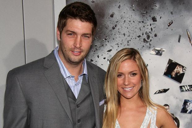 Jay Cutler with his wife, Kristin Cavallari.