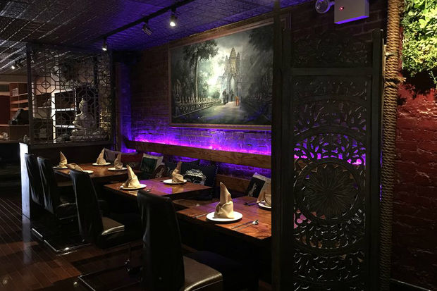 Angkor Cambodian Bistro opened last New Year's Eve and has been listed on the Bib Gourmand list.