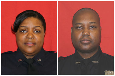 Correction officers Velma Rogers and Sean Smith have been indicted for covering up an assault on a Rikers inmate who was on suicide watch, officials said.