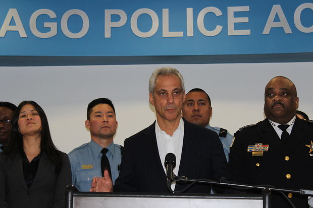Mayor Rahm Emanuel has asked Chicagoans from all walks of life to consider joining the Police Department.