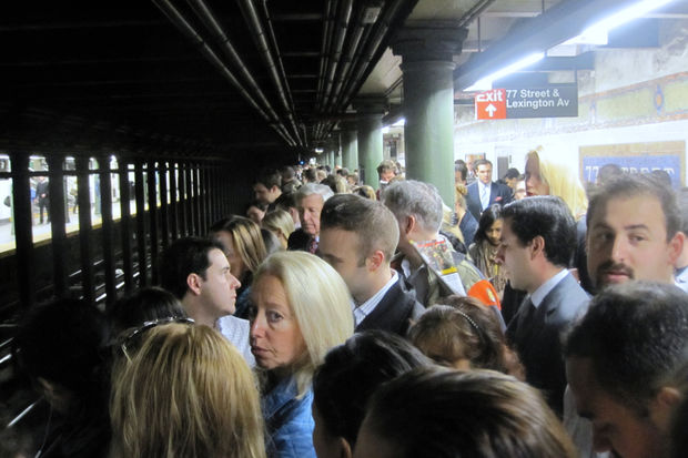 Subway delays have increased dramatically since 2012, according to the city's Independent Budget Office.