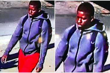 Police are looking for this man, who they say robbed several people on the Lower East Side this month.