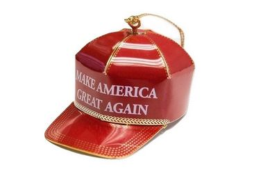The 24-karat gold ornament is being sold for $149 on the Trump gift site.
