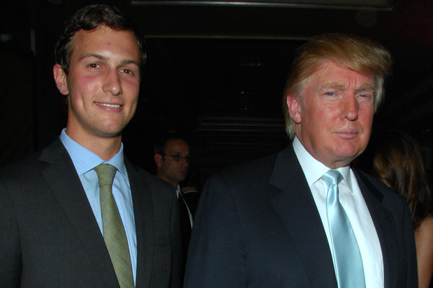 Jared Kushner (left) is President-elect Donald Trump's son-in-law and one of his most trusted advisors. Kushner is one of the biggest landlords in the East Village. But tenants in his buildings have complained about the way his property management company treats them.