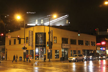 The building at Clark and Diversey has been vacant since serving as the site of a vitamin shop.