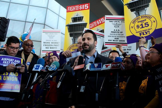 Ald. Anthony Napolitano (41st) and 11 other aldermen joined the protest Tuesday.