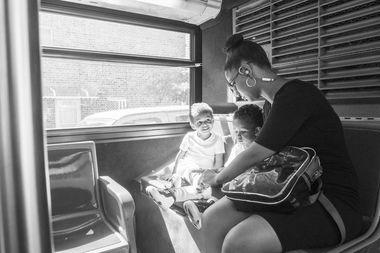 Photographer Salvador Espinoza spent months riding the bus to RikersIsland.
