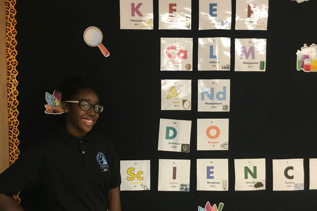 Morton School in East Garfield Park has made it to the semifinals of a school makeover contest that could award a $100,000 grant to fund a state-of-the-art science lab.