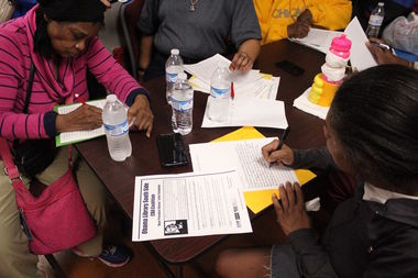 Woodlawn residents are writing to President Barrack Obama to ask  that he makes sure his library doesn't price them out of the neighborhood.