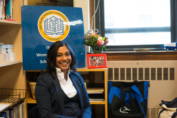 Principal Allison Persad is boosting STEM and after-school offerings at the all-girls school.