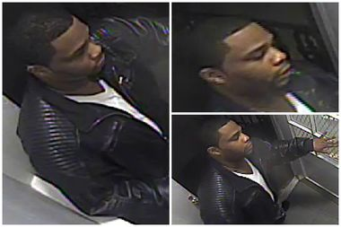 A 22-year-old woman had her purse stolen in the vestibule of her building, police said. The NYPD is looking for this suspect.