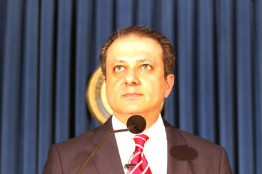 U.S. Attorney Preet Bharara announced on Saturday he had been fired.