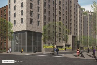 Lexington Gardens II is planned to rise on Lexington Avenue between 107th and 108th streets.