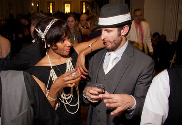 White tie and beads optional at the Chicago History Museum's annual