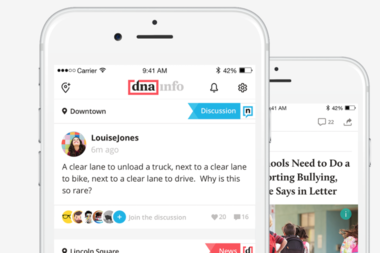 From breaking news to restaurant openings, DNAinfo's customizable app lets you pick the neighborhoods you want to follow so you never miss what's going on near your apartment or your office.
