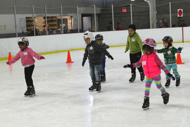 New York City's ice skating rinks will be open Christmas Day.