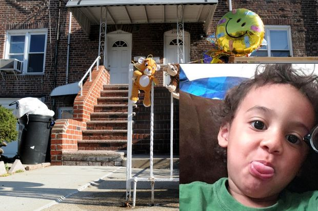 Jaden Jordan, 3, was fatally beaten by his mother's boyfriend, Salvatore Lucchesse, in his Gravesend home, officials said.