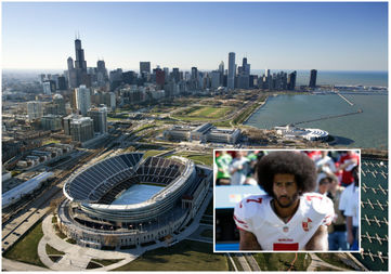 Veterans will speak out against  San Francisco 49ers quarterback Colin Kaepernick, who's coming to Soldier Field Sunday.