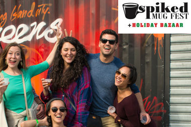 The Spiked Mug Festival will take place Dec. 17 and 18, with drinks like spiked cider and mulled wine.