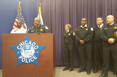 Chicago Police Supt. Eddie Johnson said police have recovered 8,000 guns from city streets this year.