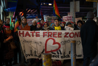 The event, sponsored by local writers, encourages activism on a local level and supports Hate Free Zones, a local group.