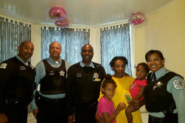 """The Anderson sisters — Destiny, 7, Derricka, 2, and Errika, 1, dubbed """"The Englewood Angels""""— were found when officers from the Englewood District responded to a well-being call in the 6300 block of South Green Avenue at 6:20 a.m. on Nov. 6, according to Officer Kevin Quaid, a Chicago Police Department spokesman."""