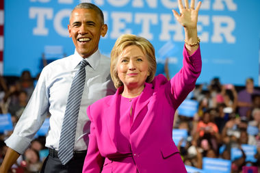 Hillary Clinton got 176,000 more votes in the 2016presidential race in Cook Countythan Chicago's favorite son Barack Obama got in the 2012 race.