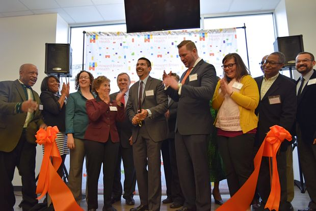 The new Howard Brown Health Clinic is officially open at 6500 N. Clark St. in Rogers Park.