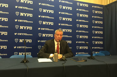 Mayor Bill de Blasio, speaking at a press conference Monday, defended the leadership of the Administration for Children's Services despite mounting questions about how the agency failed to find 3-year-old Jaden Jordan after receiving a tip about the child's severe mistreatment.
