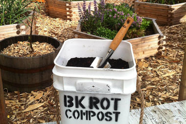 BK Rot, an compost collection organization that employs local youth, started offering its services in Bed-Stuy this month.