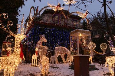 Behold the Logan Square Christmas house, 2656 W. Logan Blvd.