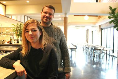 Chefs Anna and David Posey will opened Elske in the West Loop last December.