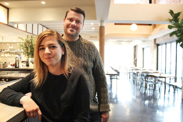 Chefs Anna and David Posey will open Elske in the West Loop this week.