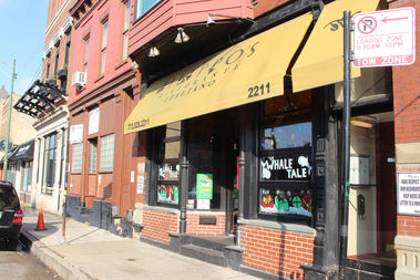 The Whale Tale, a sibling restaurant of Pequod's Pizza, has occupied the space previously held by Filippo's.