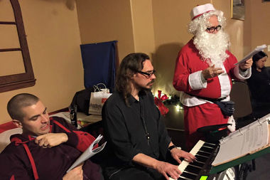 """Roll over to Rocky's next week for some Christmas carols and cold brews. On Dec. 15, First Lutheran Church of the Trinity will sponsor a holiday event dubbed """"Beer and Carols."""" The event runs from 7:45-11 p.m. at 234 W. 31st St."""