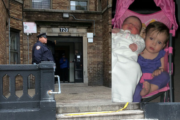 1-year-old Scylee Vayoh Ambrose and 2-year-old Ibanez Ambrose were killed after a radiator burned her and her sister inside 720 Hunts Point Ave. Wednesday, Dec. 7, 2016