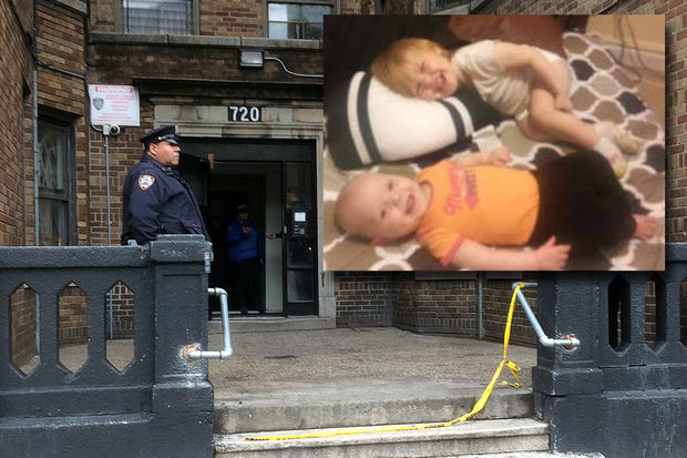 1-year-old Scylee Vayoh Ambrose and 2-year-old Ibanez Ambrose were killed after a radiator burned her and her sister inside 720 Hunts Point Ave. Wednesday, Dec. 7, 2016.