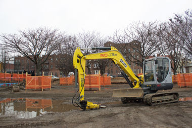 The renovations at Astoria Heights Park are expected to take about a year.