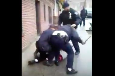 Jateik Reed, then 19, was kicked and beaten with batons by police during a stop-and-frisk in January, 2012, said his attorney