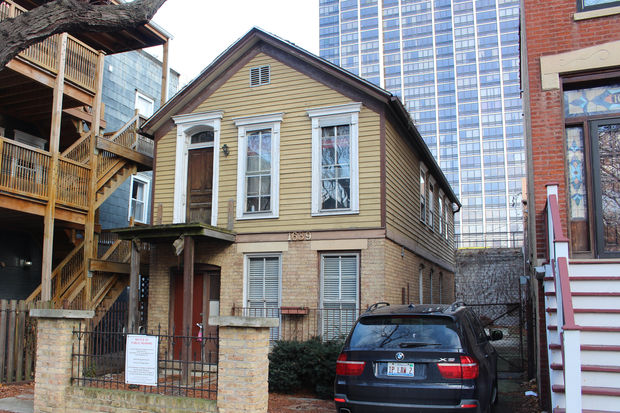 The Commission on Chicago Landmarks denied demolition of this Old Town worker cottage at 1639 N. North Park Ave.