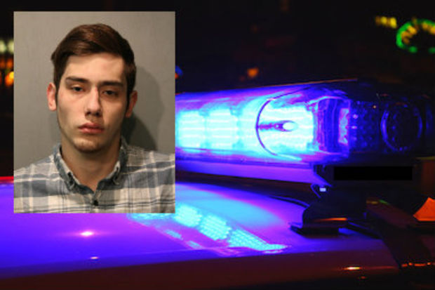 Marco DiPaolo, 22, fired shots at police officers early Thursday morning, police said.