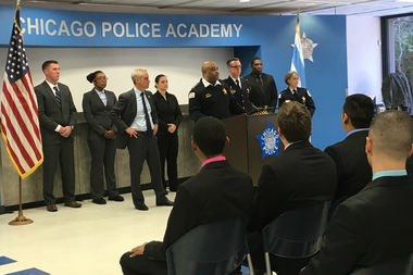 Chicago Police Training Academy welcomed final 100 new recruits for 2016.