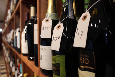 The store is adding another 50 varieties of wine later this week to expand it's selection from wineries outside Europe.