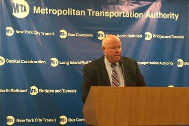 MTA Chairman and CEO Tom Prendergast said he is still aiming to open the new Second Avenue subway stations by Dec. 31.