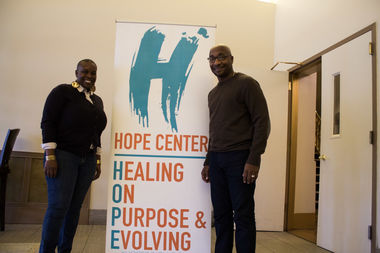 Rev. Mike Walrond and Rev. Kyndra Frazier will lead the HOPE Center along with others within the church's leadership.